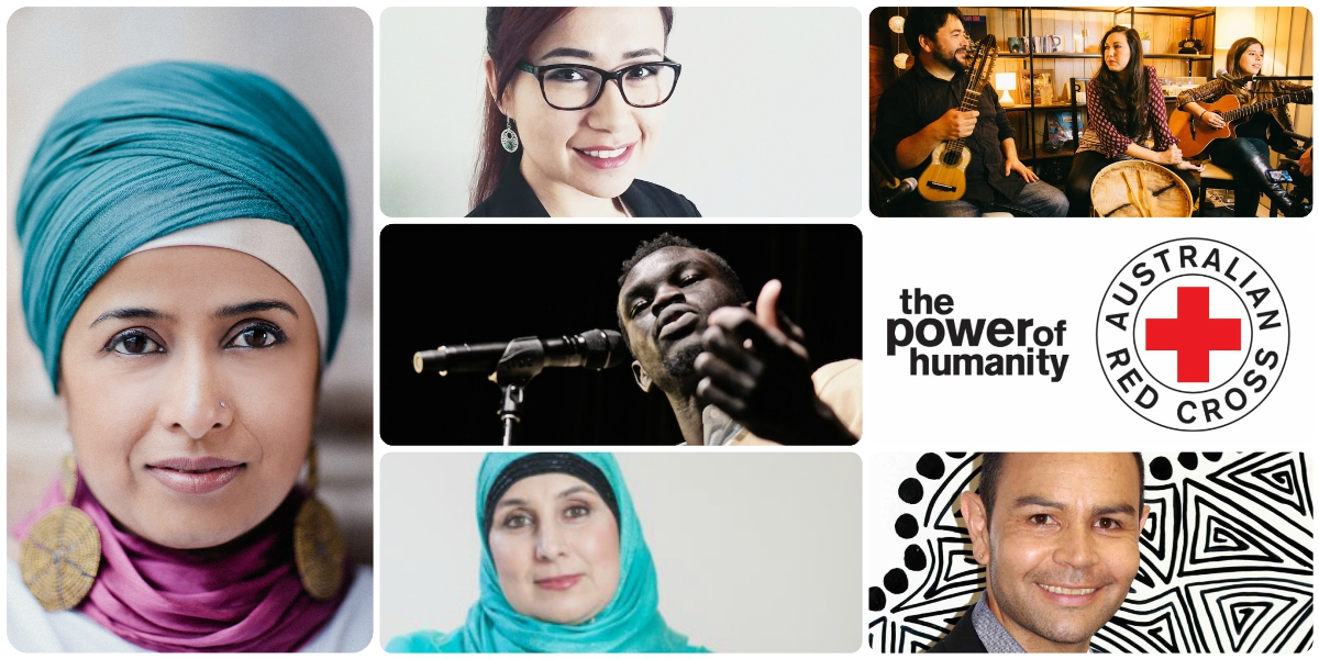 Australian Red Cross presents… An evening of multicultural discussion, music and food