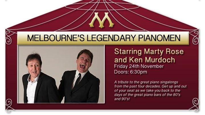 Battle of the Pianos: Marty Rose & Ken Murdoch