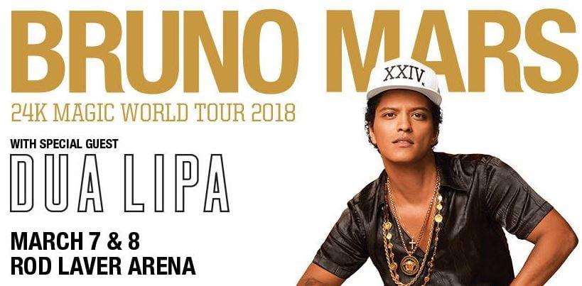 Bruno Mars Melbourne
