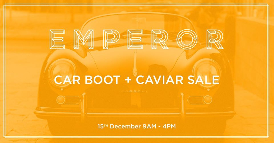 Champagne and Caviar Car Boot Sale