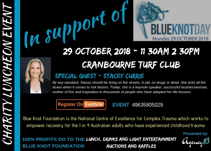 Charity Luncheon Supporting Blue Knot Day 2018