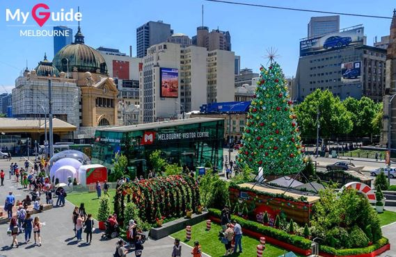 Christmas in Federation Square