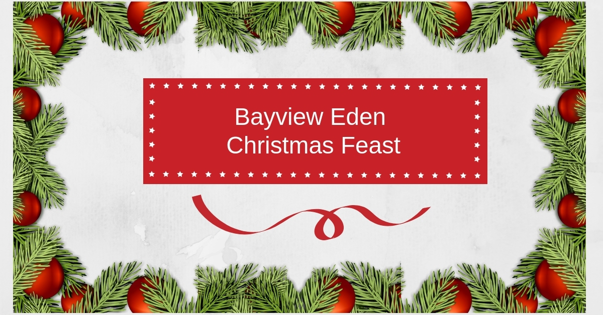Christmas Lunch at Bayview Eden
