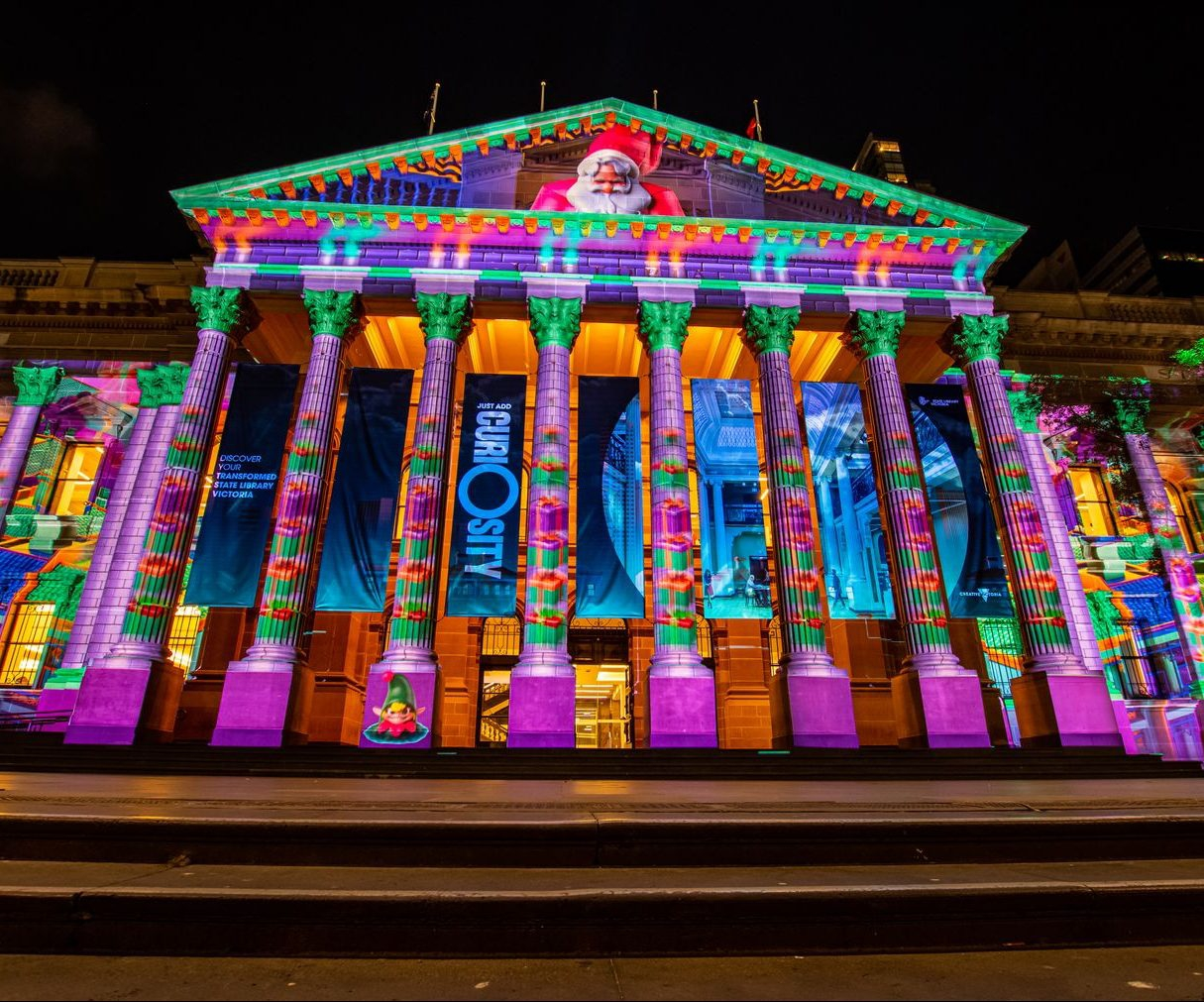 Christmas Projections