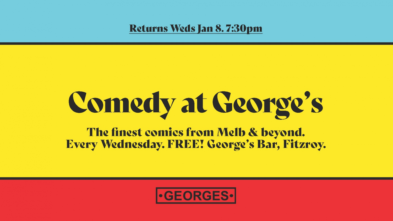 Comedy at Georges