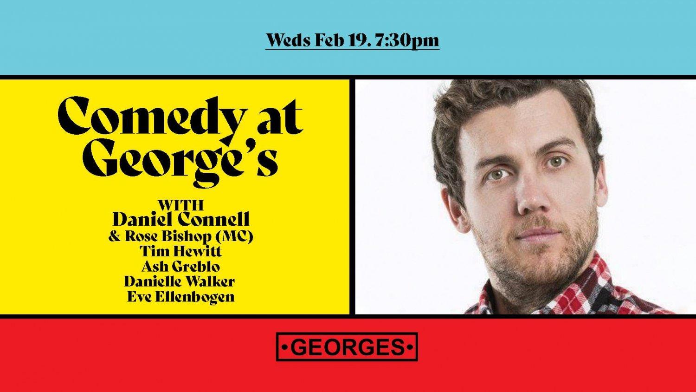Comedy At George's - Feb 19 - Daniel Connell
