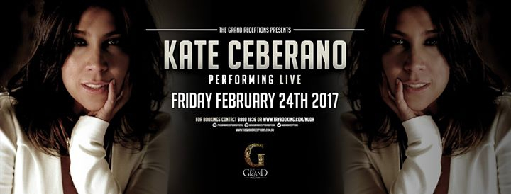 Dinner & Show with Kate Ceberano