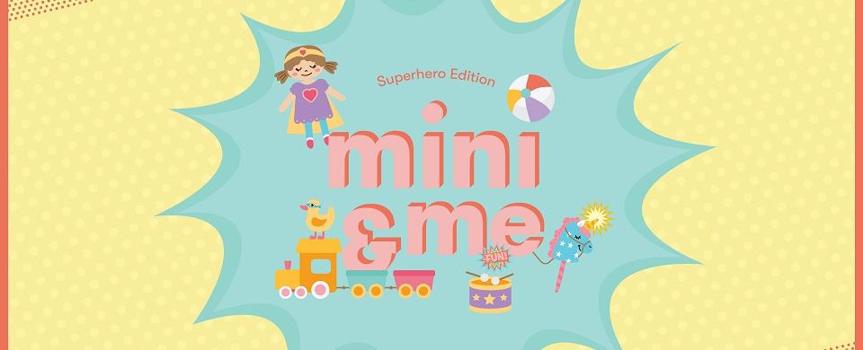 Eastland mini & me: Superheroes Edition