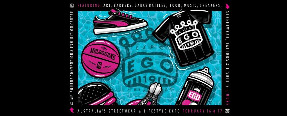 Ego Expo: Australia's Streetwear & Lifestyle Expo