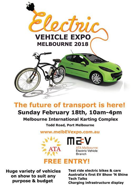 Electric Vehicle Expo 2018