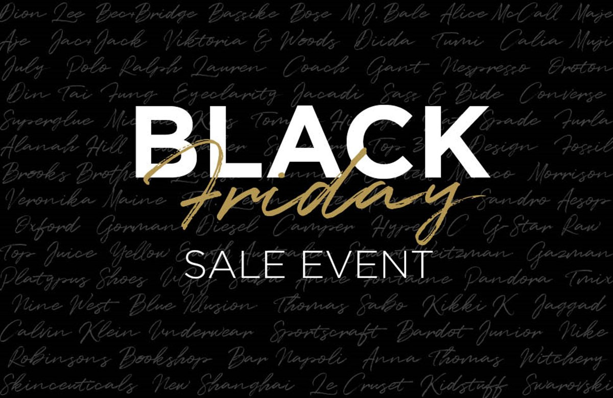 Emporium Melbourne Black Friday Sale Event