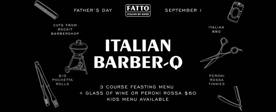 Father's Day at Fatto