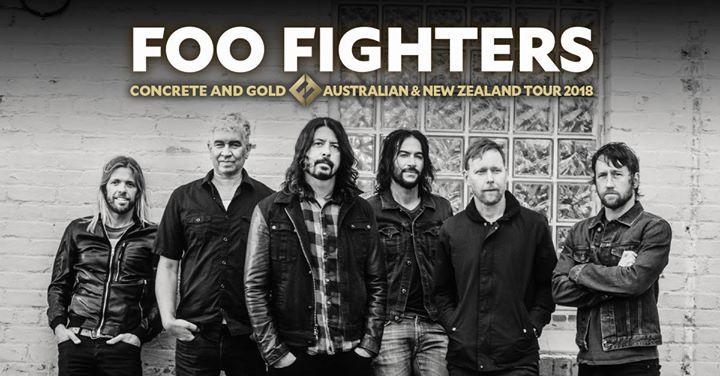 Foo Fighters at Etihad Stadium, Melbourne