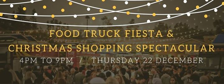 Food Truck Fiesta & Christmas Shopping Spectacular!
