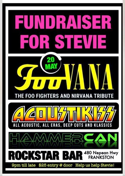 Foovana- Fundraiser for stevie