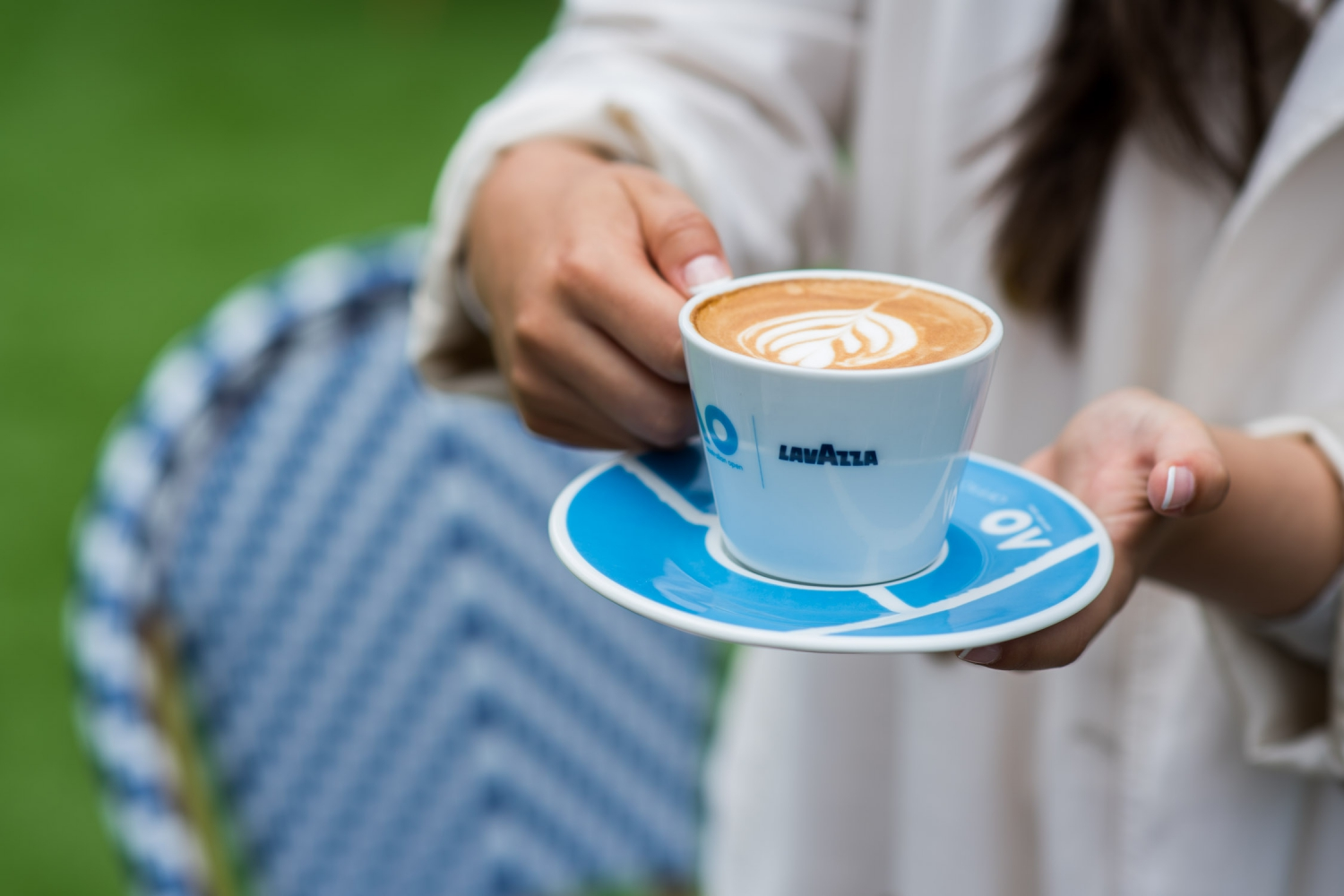 Free Lavazza coffee over the AO Finals weekend