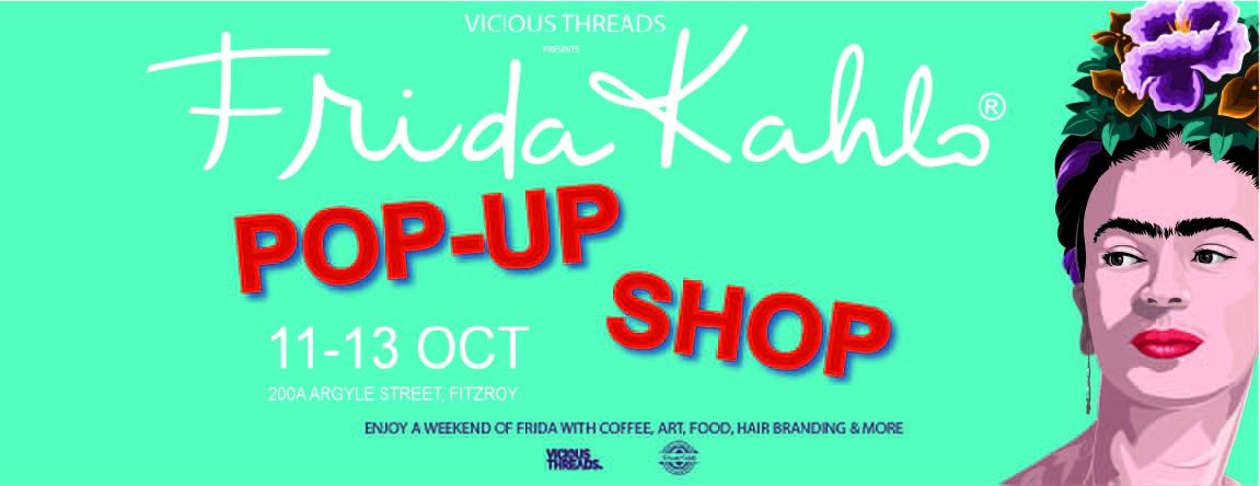 Frida Kahlo Pop-up Shop