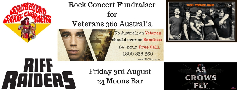 Fundraiser for Veterans 360 Australia