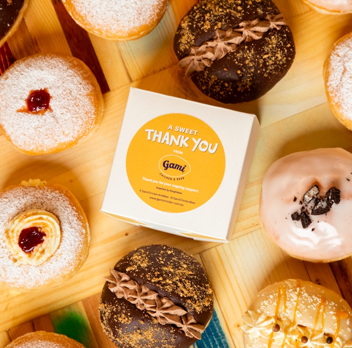 Gami Chicken & Beer says a 'sweet thank you' to their fans with 10,000 donuts