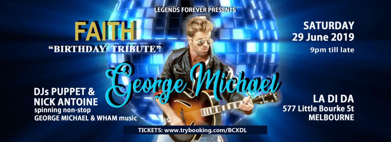 George Michael 'Faith' Birthday Tribute
