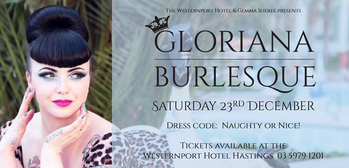 Gloriana Burlesque - 23rd December 2017