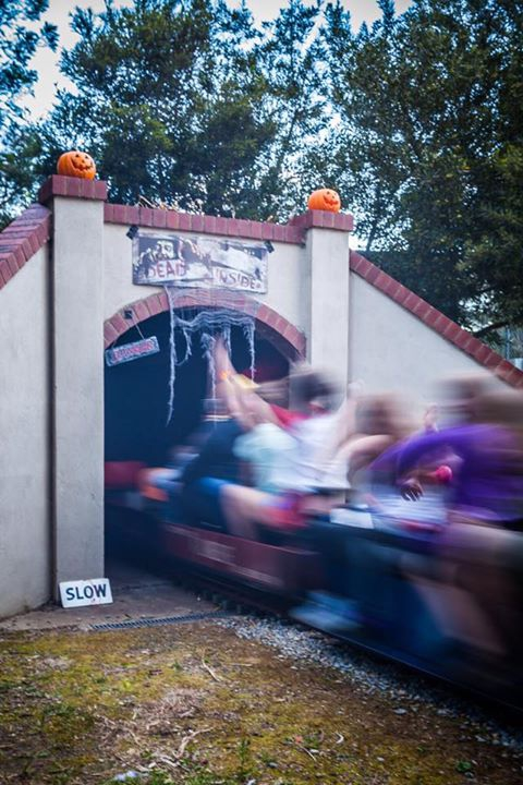 Halloween 2017 at the Mooroolbark Miniature Railway