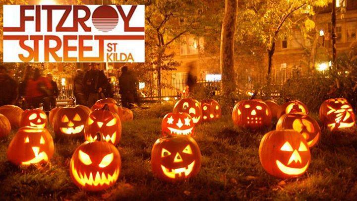 Halloween on Fitzroy Street, St Kilda