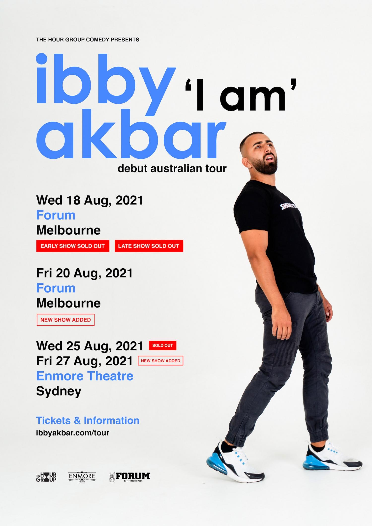 "Ibby Akbar ""I Am"" Australian Tour"