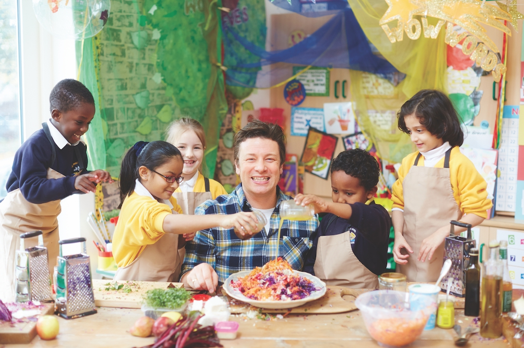 Jamie Oliver's Learn Your Fruit and Veg at Royal Melbourne Show
