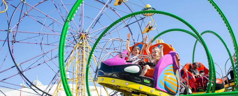 Join the fantabulous Carnival Summer of fun at Luna Park
