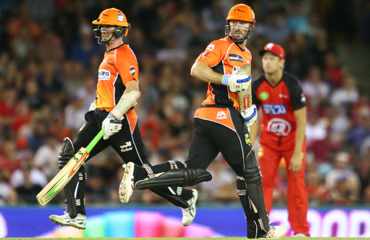 KFC BBL|06 Game 9: Melbourne Renegades vs Perth Scorchers