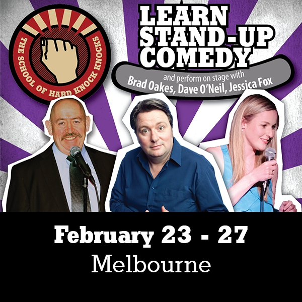 Learn stand-up comedy in Melbourne