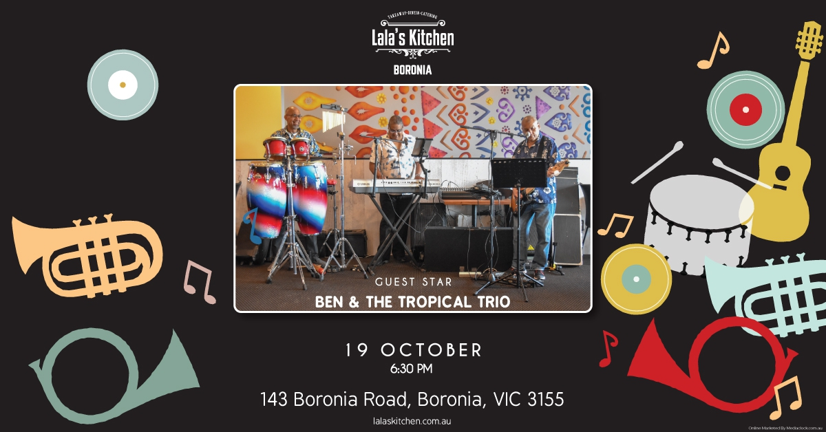Live Music with an Awesome Dinner at Lala's Kitchen