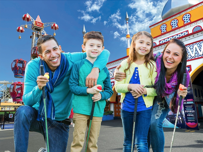 Luna Park 'Hole In Fun' Winter School Holidays Attraction