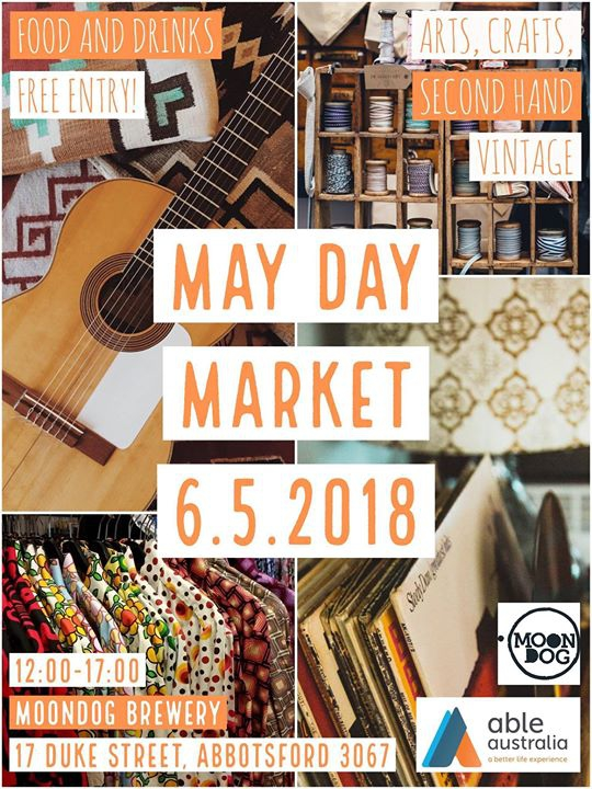 May Day Market 2018 Melbourne