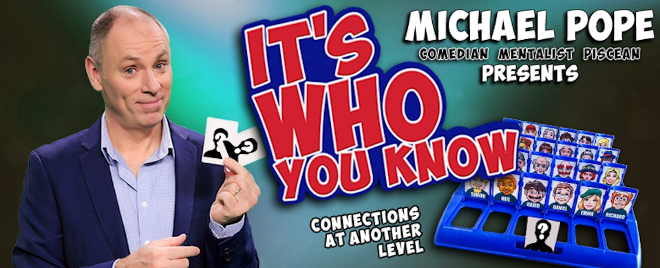 Melb Magic Festival: It's Who You Know ...with Michael Pope