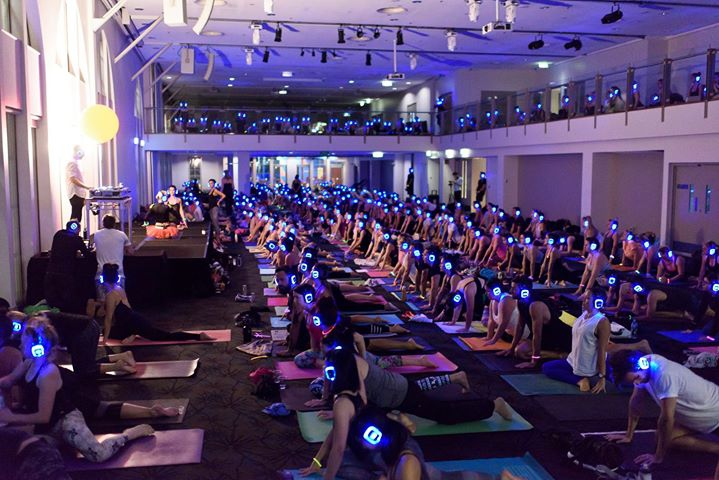 Melbourne Flow After Dark Yoga Silent Disco