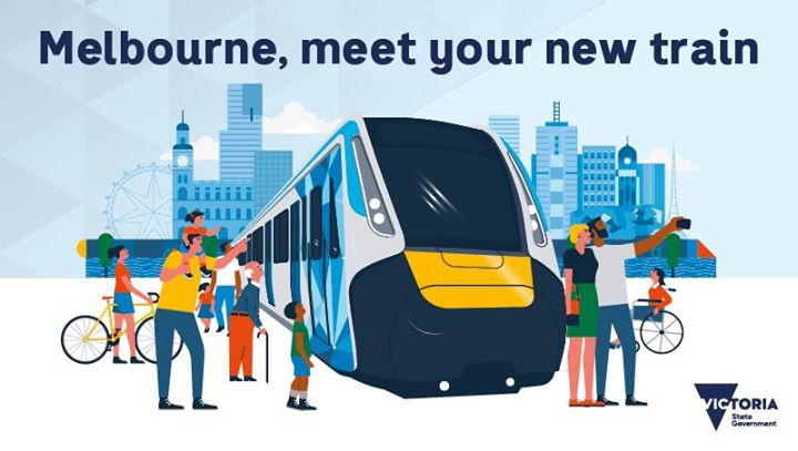 Melbourne, meet your new train