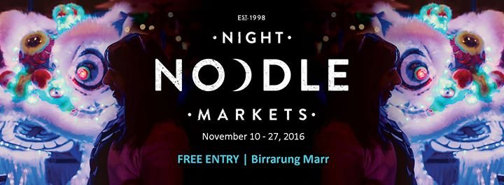 Melbourne Night Noodle Markets
