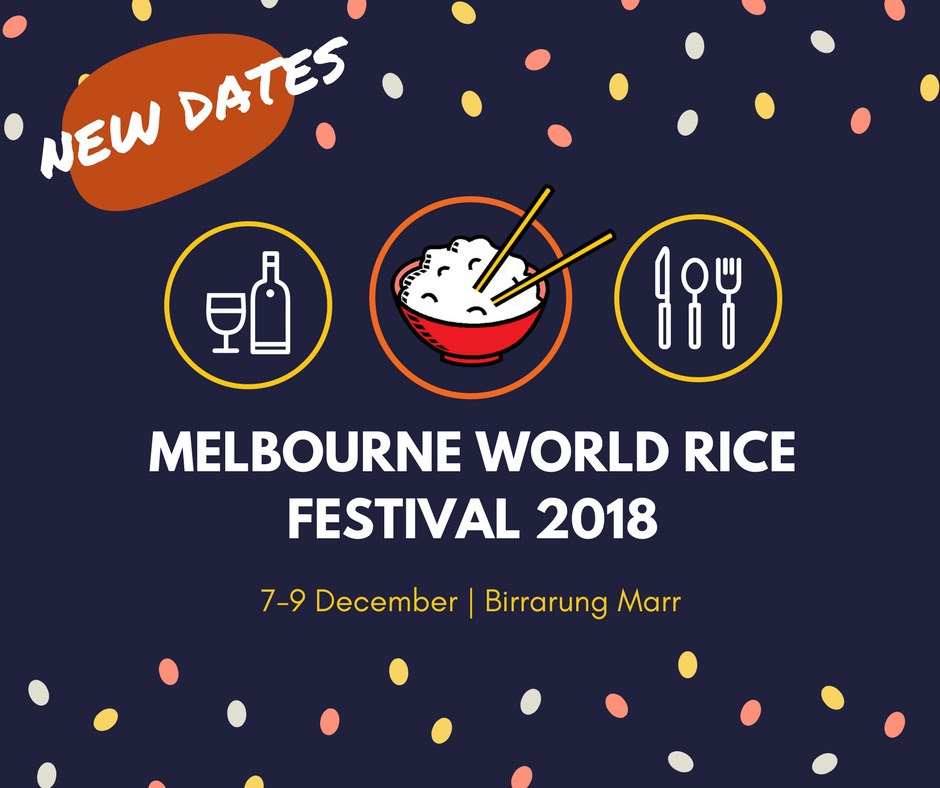 Melbourne World Rice Festival 2018