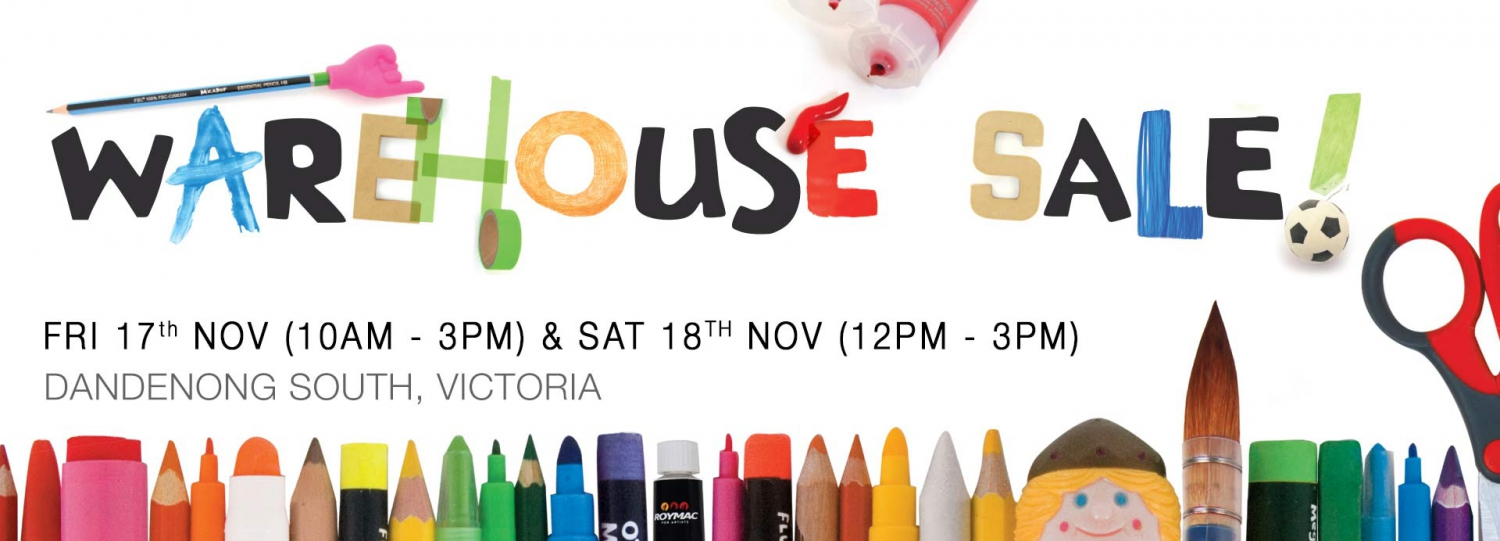 Micador Warehouse Sale - Arts, Crafts, Stationery, Gifts and Tech!
