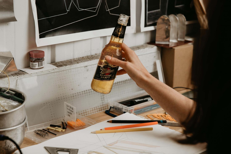 Miller Genuine Draft - Miller Design Lab