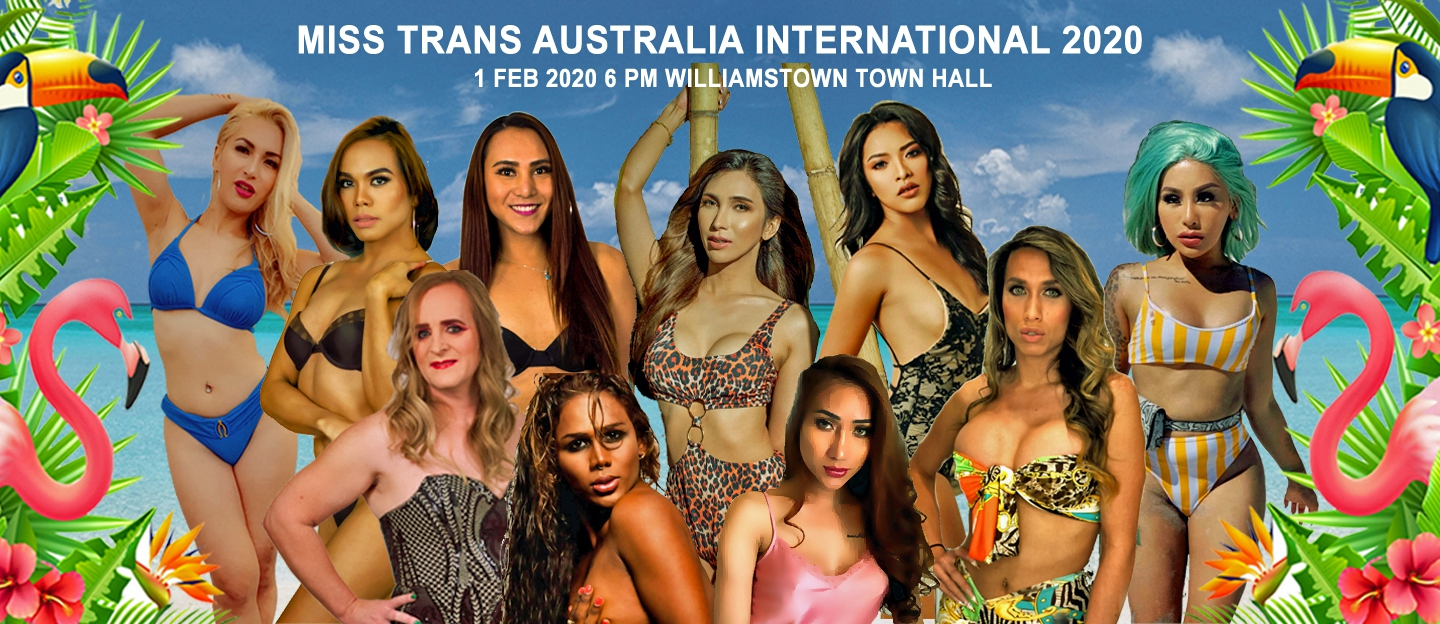 MISS GAY & MISS TRANS AUSTRALIA INTERNATIONAL PAGEANT