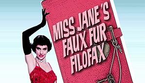 Miss Jane's Faux Fur Filofax