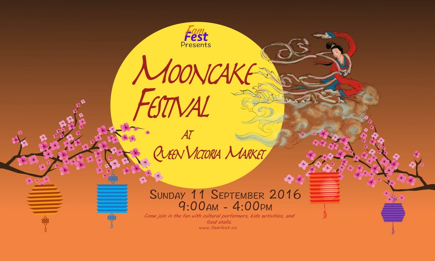 Mooncake Festival at Queen Vic Market