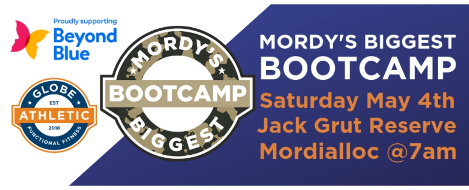 Mordy's Biggest Bootcamp Fundraiser
