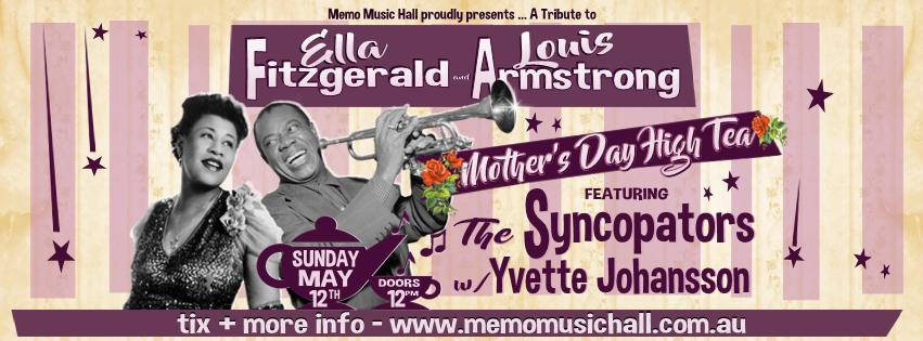 Mothers Day High Tea  - A Tribute to Ella Fitzgerald And Louis Armstrong