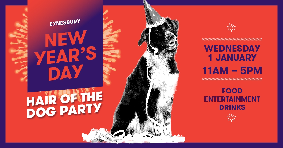 New Year's Day Hair of the Dog party at Eynesbury