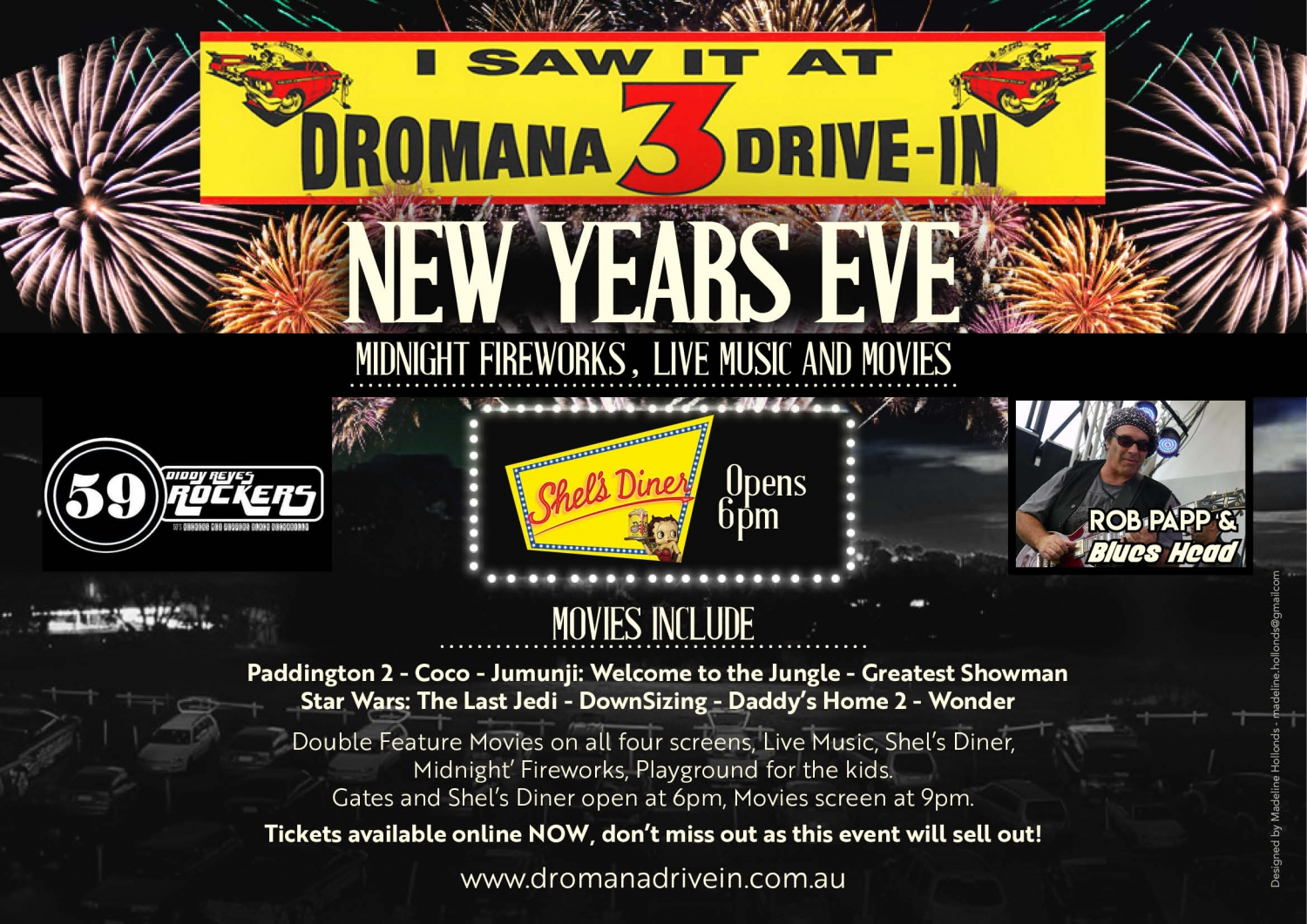 New Years Eve @ Dromana 3 Drive In
