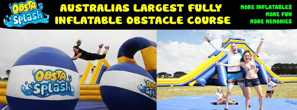 ObstaSplash Inflatable Obstacle Course